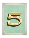Vintage 5 Art by Rebecca Peragine