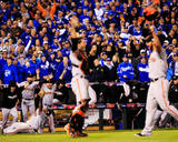 World Series - San Francisco Giants v Kansas City Royals - Game Seven Foto av Jamie Squire