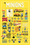 Despicable Me - Infographic Obrazy
