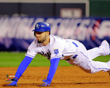 Eric Hosmer Game 6 of the 2014 World Series Action Photo