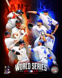 2014 MLB World Series Match Up Composite San Francisco Giants vs. Kansas City Royals Photo