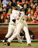 Juan Perez Game 5 of the 2014 World Series Action Photo