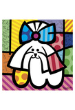 L.A. Dog Posters by Romero Britto