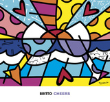 Cheers Posters by Romero Britto