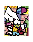 Chat Affiches par Romero Britto