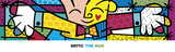 The Hug Prints by Romero Britto