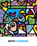 Fishbowl Prints by Romero Britto