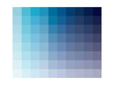 Azul Rectangle Spectrum Posters by Rebecca Peragine