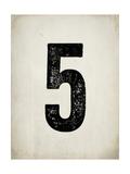 Distressed 5 Prints by Rebecca Peragine