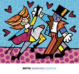 Dancing Couple Art by Romero Britto