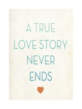 True Love Story Posters by Rebecca Peragine