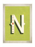 Vintage N Posters by Rebecca Peragine