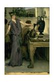 Etruscan Vase Painters, 1871 Giclee Print by Sir Lawrence Alma-Tadema