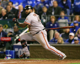Pablo Sandoval Double Game 7 of the 2014 World Series Photo
