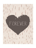 Forever Poster by Rebecca Peragine