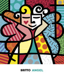 Angel Posters by Romero Britto