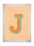 Vintage J Posters by Rebecca Peragine
