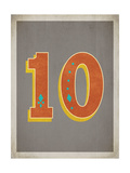 Vintage 10 Grey Prints by Rebecca Peragine