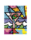 Happy Hour Art by Romero Britto