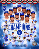 Kansas City Royals 2014 American League Champions Composite Photo