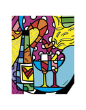 Let's Celebrate Prints by Romero Britto