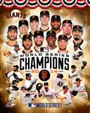San Francisco Giants 2014 World Series Champions Composite Photo