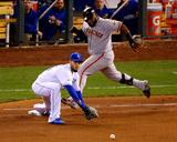 World Series - San Francisco Giants v Kansas City Royals - Game Seven Fotografía por Dilip Vishwanat