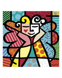 Angel Prints by Romero Britto
