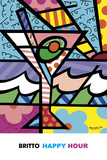Happy Hour Posters by Romero Britto