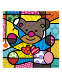 Friendship Bear Láminas por Romero Britto