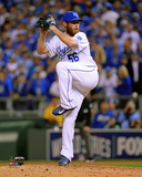 Greg Holland Game 2 of the 2014 World Series Action Photo
