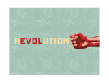 Revolution 2 Posters by Rebecca Peragine