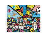 In the Park Poster by Romero Britto