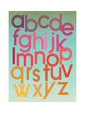 Berry Alphabet Posters by Rebecca Peragine