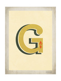Vintage G Prints by Rebecca Peragine