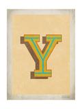 Vintage Y Posters by Rebecca Peragine