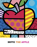 The Apple Láminas por Romero Britto