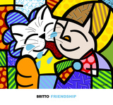 Friendship Prints by Romero Britto
