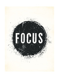 Focus Posters by Rebecca Peragine