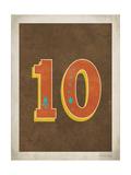Vintage 10 Print by Rebecca Peragine