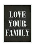 Love Your Family Art by Rebecca Peragine