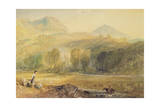 Valle Crucis Abbey, Denbighshire, C.1826 Giclee Print by Joseph Mallord William Turner