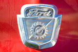 Vintage Ford Firetruck Engine Emblem Photo Poster Prints