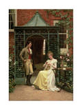 On the Threshold, 1900 Giclee Print by Edmund Blair Leighton