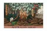 Australian Jarrah Giclee Print by Keith Henderson