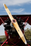 1940s Biplane Wooden Propellor Engine Photo Poster Posters