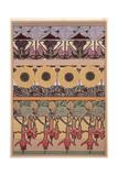 Alphonse Mucha - Plate 40 from 'Documents Decoratifs', 1902 Digitálně vytištěná reprodukce