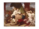 Samson Betrayed, 1850 Giclee Print by Frederick Richard Pickersgill