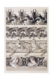 Study for Plate 60 of 'Documents Decoratifs', 1902 Giclee Print by Alphonse Mucha