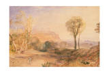 Powis Castle, Montgomeryshire, C.1835 Giclee Print by Joseph Mallord William Turner